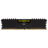 Memorija PC-24000, 16 GB, CORSAIR CMK16GX4M1B3000C15 VengeanceLPX black, DDR4 3000Mhz, 16GB