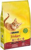 Hrana za mačke PURINA Friskies, govedina i piletina, 1,5kg, za odrasle mačke