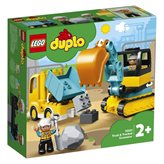 LEGO 10931, Duplo, Kamion i bager gusjeničar
