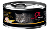 Hrana za mačke ALPHA SPIRIT, kunić/banana, 0,085kg, za odrasle mačke