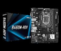 Matična ploča ASROCK B460M-HDV, Intel B460, mATX, s. 1200