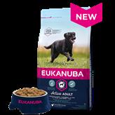 Hrana za pse EUKANUBA Active Adult Large, 12kg, za odrasle pse velikih pasmina
