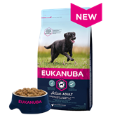 Hrana za pse EUKANUBA Active Adult Large, 3kg, za odrasle pse velikih pasmina