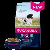 Hrana za pse EUKANUBA Active Adult Medium, 3kg, za odrasle pse srednjih pasmina