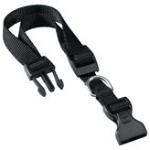 Ogrlica za pse FERPLAST Club, crna, 32cm