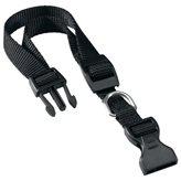 Ogrlica za pse FERPLAST Club, crna, 44cm