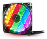 Ventilator INTER-TECH Argus L-12025 Aura LED RGB, 120mm, 1500 okr/min, RGB