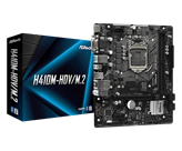 Matična ploča ASROCK H410M-HDV/M.2, Intel H410, mATX, s. 1200