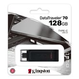 Memorija USB 3.2 Type-C FLASH DRIVE,128 GB,  KINGSTON DT70/128GB, crni
