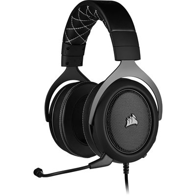 Slušalice CORSAIR HS60 Pro Surround Gaming, mikrofon, crne