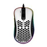 Miš UVI Gear Lust, optički, RGB, 16000dpi, USB, bijeli