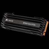 SSD 1000 GB CORSAIR Force MP600 CSSD-F1000GBMP600, PCIe NVMe, M.2, 2280, maks do 4950/4250 MB/s