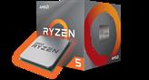 Procesor AMD Ryzen 5 3600XT BOX, s. AM4, 3.8GHz, HexaCore, bez hladnjaka