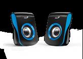 Zvučnici GENIUS SP-Q180, 2.0, USB, 6W, plavi