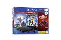 Igraća konzola SONY PlayStation 4, 500GB, Chassis F, crna, Marvel's Spiderman + Horizon Zero Dawn Complete Edition + Ratchet and Clank Hits