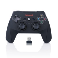 Gamepad REDRAGON Harrow G808, PS3/PC/XboX 360/Android, bežični, crni