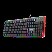 Tipkovnica REDRAGON Kali 557R, RGB, mehanička, USB, US layout, crna