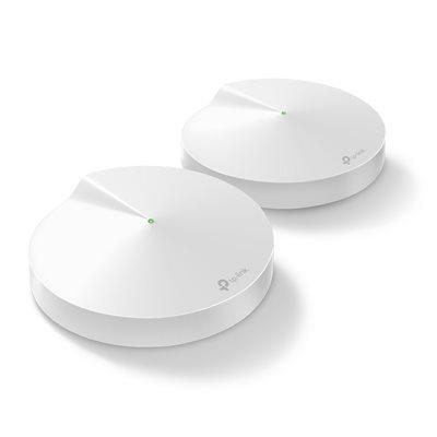 Wireless range extender TP-LINK Deco M9, AC 2200, Tri-Band Mesh Wi-Fi System, 400 Mb/s, bežični, 2 komada