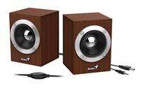 Zvučnici GENIUS SP-HF280, 6W, drveni