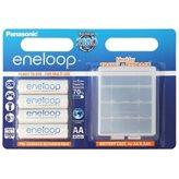 Baterija PANASONIC Eneloop BK3MCCEC4BE, tip AA, punjive, 1900 mAh, 4kom + kutijica