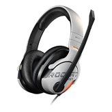 Slušalice ROCCAT Khan AIMO, RGB, mikrofon, bijele