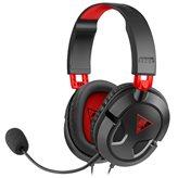 Slušalice TURTLE BEACH Recon 50, mikrofon, PC/PS4/Xbox, crno-crvene