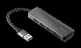 USB HUB TRUST Halyx, 4-portni USB 3.2