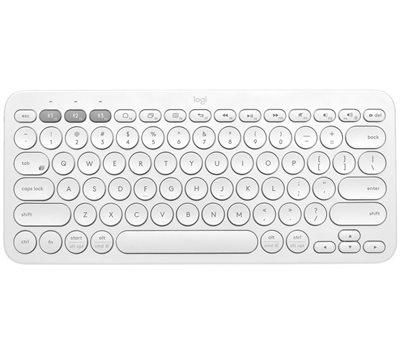 Tipkovnica LOGITECH K380, Bluetooth, kompaktna, bijela