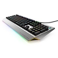 Tipkovnica ALIENWARE AW768 Gaming Pro, mehanička, US Layout, srebrna, USB