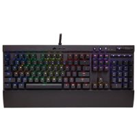 Tipkovnica CORSAIR Gaming K70 RGB, mehanička, US layout, crna, USB