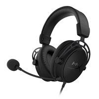 Slušalice HyperX Cloud Alpha S Gaming, HX-HSCAS-BK/WW, crne