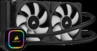 Vodeno hlađenje CORSAIR iCUE H100i RGB PRO XT, CPU hlađenje, s. 1200/1150/1151/1155/1156/1366/2011/2011-3/AM4/AM3/AM2/AM3/FM1/FM2