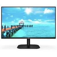 "Monitor 23.8"" AOC 24B2XH, IPS, 7ms, 250cd/m2, 1000:1, crni"