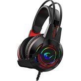 Slušalice RAMPAGE Miracle-X4, RGB, 7.1, mikrofon, USB, crne
