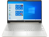 "Prijenosno računalo HP 15s-fq1076nm 241B7EA / Core i3 1005G1, 8GB, 512GB SSD, HD Graphics, 15.6"" FHD, Windows 10S, zlatni"