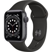 Pametni sat Apple Watch Series 6 GPS, 40mm Space Gray Aluminium Case with Black Sport Band - Regular - PREDNARUDŽBA