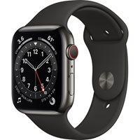 Pametni sat Apple Watch Series 6 GPS, 44mm Space Gray Aluminium Case with Black Sport Band - Regular - PREDNARUDŽBA