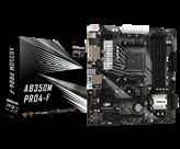 Matična ploča ASROCK AB350M PRO4-F, AMD B350, DDR4, mATX, s. AM4