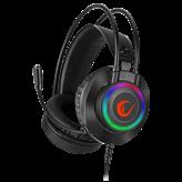 Slušalice RAMPAGE RM-K27 X-Jammer, mikrofon, crne