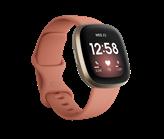 Pametni sat FITBIT Versa 3, HR, GPS, pametne obavjesti, rozo/zlatni