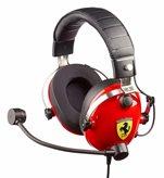 Slušalice THRUSTMASTER T.Racing Scuderia Ferrari Edition, mikrofon, crno/crvene