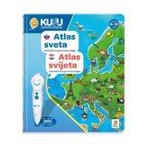 Interaktivna knjiga KUKU - Atlas svijeta (knjiga bez interaktivne olovke)