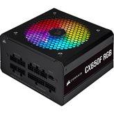Napajanje 650W CORSAIR CX650F RGB CP-9020217-EU, ATX v2.4, 120mm vent., 80+ Bronze, modularno
