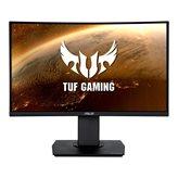 "Monitor 23.6"" ASUS TUF Gaming VG24VQ, 144Hz, 1ms, 350cd/m2, 3000:1, zvučnici, pivot, curved, crni"