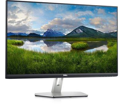 """Monitor 27"""" DELL S2721HN, 75Hz, 4ms, 300cd/m2, 1000:1, sivi"""