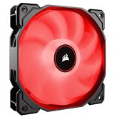 Ventilator CORSAIR AF120 LED Red, 120mm, 1400 ±10% okr/min