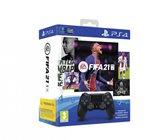 Gamepad SONY PlayStation 4, DualShock 4 v2, bežični, crni, FIFA 21 VCH + FUT VCH + PS+14dana