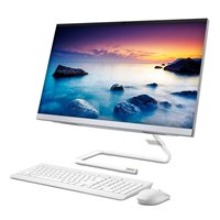 "Računalo LENOVO IdeaCentre AIO 3 F0EU0087SC / i5 10400T, 8GB, 1000GB + 256GB SSD, DVDRW, HD Graphics, 23.8"" IPS FHD, DOS, tipkovnica, miš, bijelo"