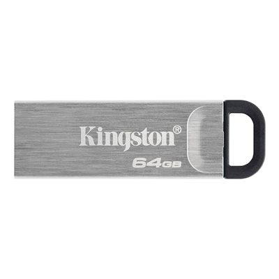 Memorija USB 3.2 FLASH DRIVE, 64 GB, KINGSTON DataTraveler Kyson DTKN/64GB, srebrni