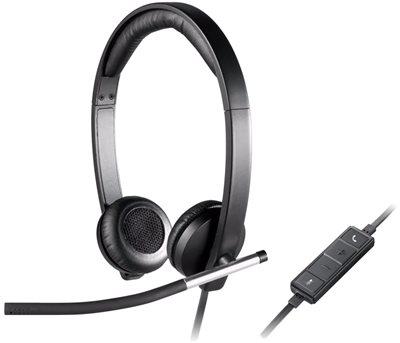 Slušalice LOGITECH Headset H650e, crne, USB